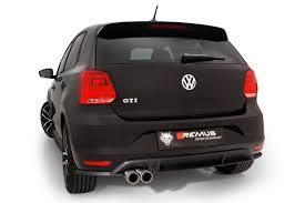 volkswagen polo black 2017 remus news remus product information 14 2016 vw polo v gti facelift