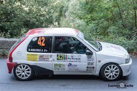 nania si e auto nania si impone al rally event con la 106 a5 autotecnica racing di