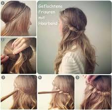 Coole Einfache Frisuren Lange Haare by Frisuren Mit Haarband My Style Frisuren Mit