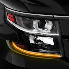 2017 chevy tahoe fog light kit putco chevy tahoe 2015 2017 g3 switchback led dayliners