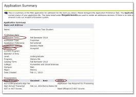 check application status dr billie doris mcada graduate