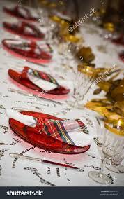Holiday Table Settings by Holiday Table Settings Stock Photo 8065744 Shutterstock