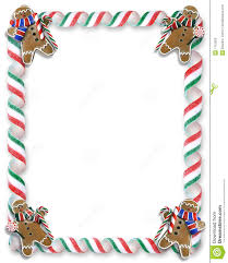 christmas border cookies and candy stock photography image 7112502