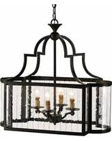 Indoor Lantern Chandelier Fall Into Savings On Currey And Company Fitzjames 25