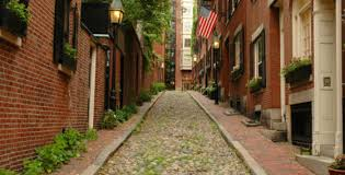 acorn street l globe the best interactive boston map for planning your vacation