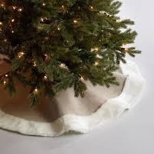 faux fur tree skirt 10 best christmas tree skirts for 2017 white gold