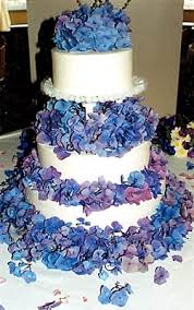blue and purple wedding wedding cakes pictures april 2010