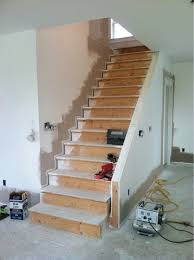 Staining Banister How To Finish Banister White With Stained Handrail Finish