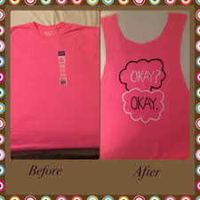 diy the fault in our stars t shirt t shirt from walmart less than