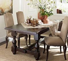 Pottery Barn Dining Room Chairs Awesome Toscana Extending Dining Table Wynn Chair Set Pottery Barn