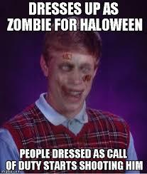 Bad Luck Brian Meme Maker - zombie bad luck brian meme imgflip