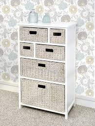White Bedroom Drawer Units Tetbury White Storage Unit With 5 Drawers Bedroom Furniture Direct