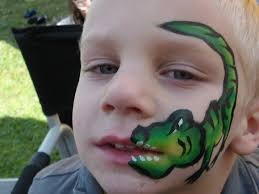 coloring pages outstanding boy face paint ideas easy painting