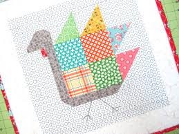 tom turkey quilt block tutorial bee in my bonnet tom