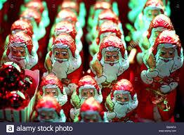 lindt chocolate santa claus stock photo royalty free image