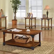 3 Piece Living Room Table Sets Furniture Of America Cm4102 3pk Bozeman 3 Piece Coffee Table Set