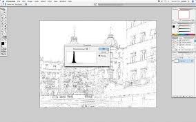 how to turn a photo into a sketch photoshop creative photoshop