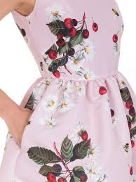 daises and cherries printed dress lidiashopping it shopping
