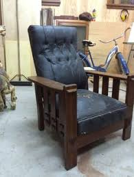 streit morris reclining chair with leather seat victorian furniture