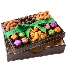 oh nuts purim baskets exquisite leather chestnut organizer gift basket purim baskets