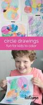 easy circle drawings fun for kids to color it u0027s always autumn