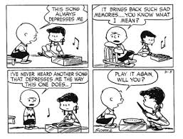 Meme Comic Strip - charlie brown on record collecting the very best peanuts vinyl