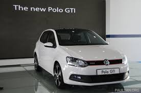volkswagen polo 2015 white 2015 vw polo gti to get more power manual option image 225249