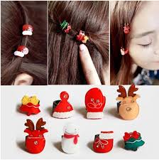 christmas hair accessories korean style children hair accessories hair clip hair claws
