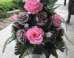 Graveside Flower Vases Cemetery Flowers Memorial Flowers White Cemetery Vase With