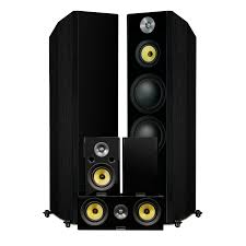 top rated home theater subwoofer fluance signature series hi fi 5 0 home theater speaker system