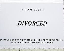 Congrats On Your Divorce Card Funny Divorce Cards Etsy