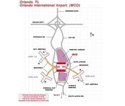 mco terminal map orlando airport car rental cheap car hire orlando airport mco car