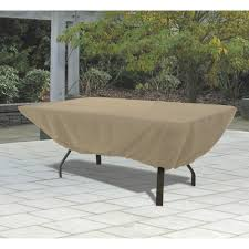 Round Patio Furniture Set by Classic Accessories Terrazzo Rectangular Oval Patio Table Cover