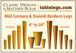 New Mid Century Modern Furniture by Tablelegs Com Triples Output Of Mid Century Modern Legs