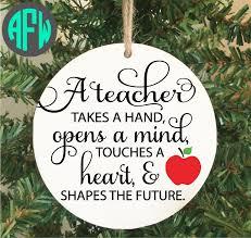 teacher ornament teacher gift teacher appreciation teacher