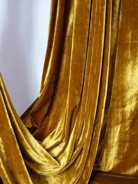 Gold Velvet Curtains Caramel Velvet Curtains Search Library Room Pinterest