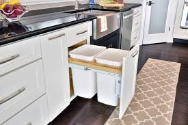 kitchen rev ideas garbage can enclosure plans rev a shelf two tier pull out baskets