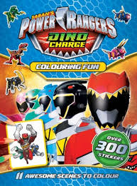power rangers colouring fun colouring books format