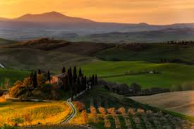 picture tuscany italy podere belvedere nature fields scenery
