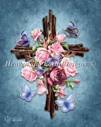 butterfly cross brigid ashwood heaven and earth designs