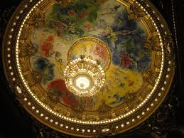 paris opera house chandelier opéra garnier another bonjour