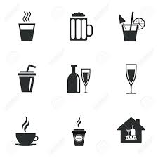 cocktail clipart black and white cocktail beer icons coffee and tea drinks soft and alcohol