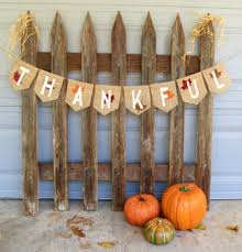 thanksgiving decor burlap banner photography by nhayesdesigns
