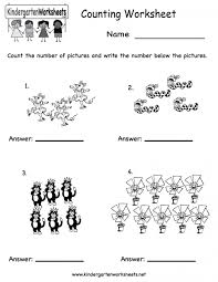 counting worksheetsgarten missing number worksheet printable