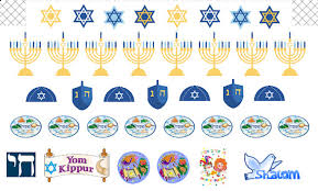 hanukkah stickers stickers holidays stickers for erin