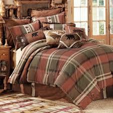 cabin bedding sets moose adventure bed sets rustic bedspreads on