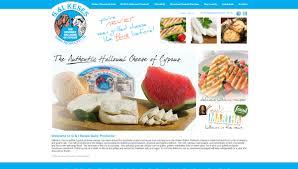 gi keses halloumi my food brand website design and development