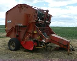 massey ferguson 1560 round baler item al9995 sold may 2