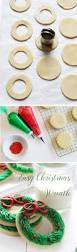 sugar cookie christmas wreath i am baker