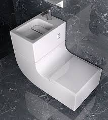 Bathroom L Fixtures Combined Loo And Basin Made By Roca This Is Called The W W